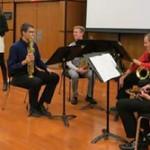 Dr. Anna Marie Wytko's Saxophone Quartet